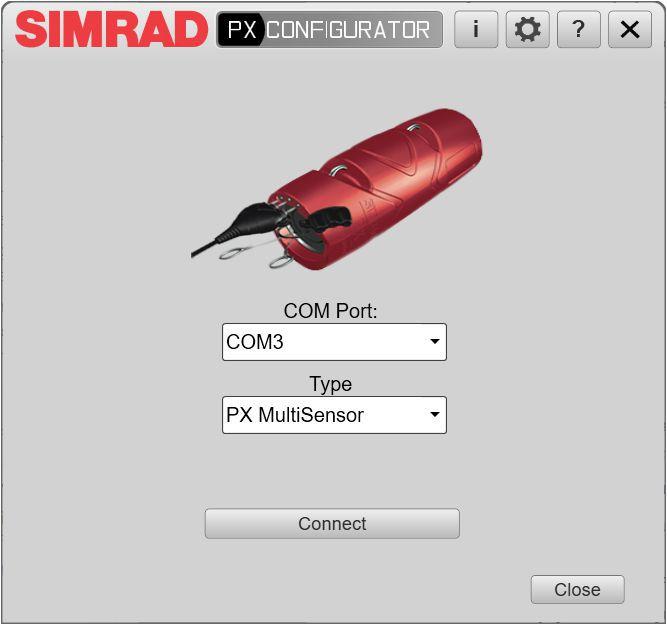 Simrad PX Configurator
